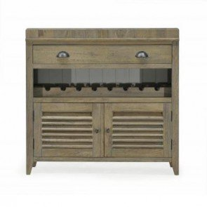 Baker Tannery Large Wine Cabinet