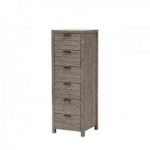 Baker Tuscan Spring 6 Drawer Tall Chest of Drawers