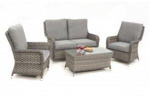 Maze Rattan Victoria 2 Seat High Back Sofa Set