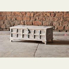 Little Tree Whiteleaf Upcycled Trunk Box Coffee Table