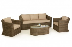 Maze Rattan Winchester 3 Seat Sofa Set