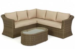 Maze Rattan Winchester Small Corner Sofa Set