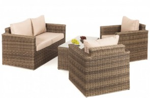 Maze Rattan Winchester Square Sofa Set
