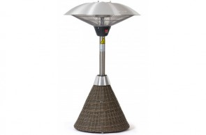Maze Rattan Winchester Table Top Heater