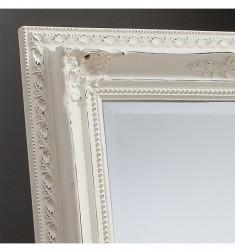 Gallery Buckingham Mirror in Vintage White