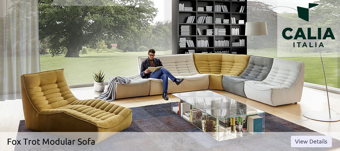 Calia Italia Fox Trot Modular Sofa in Northern Ireland