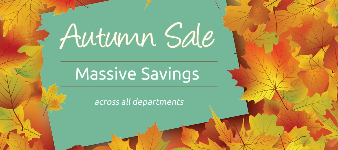Autumn Sale Now On For Furniture in Northern Ireland