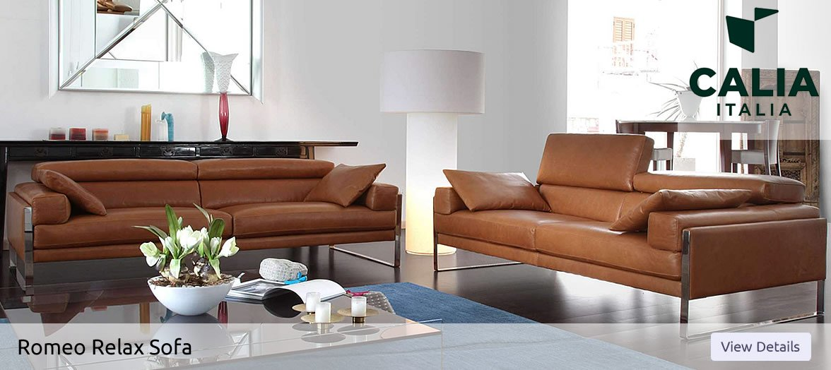 Calia Italia Romeo Relax Sofa in Northern Ireland