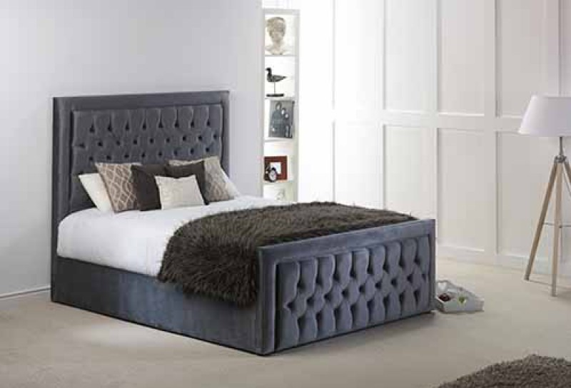 MiBec Violet Electric Adjustable Bed Surround