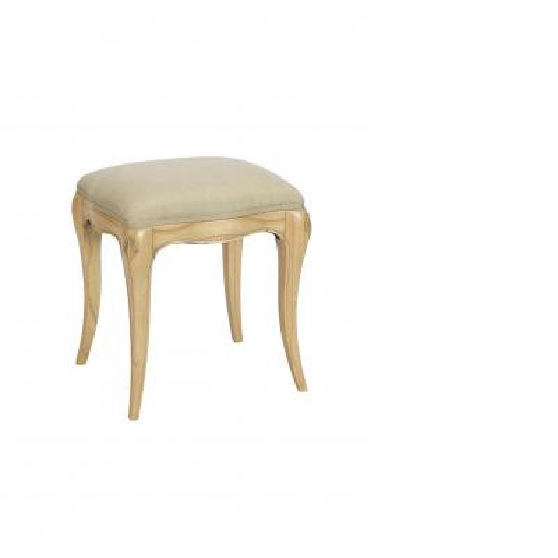 Baker Limoges Upholstered Dressing Stool