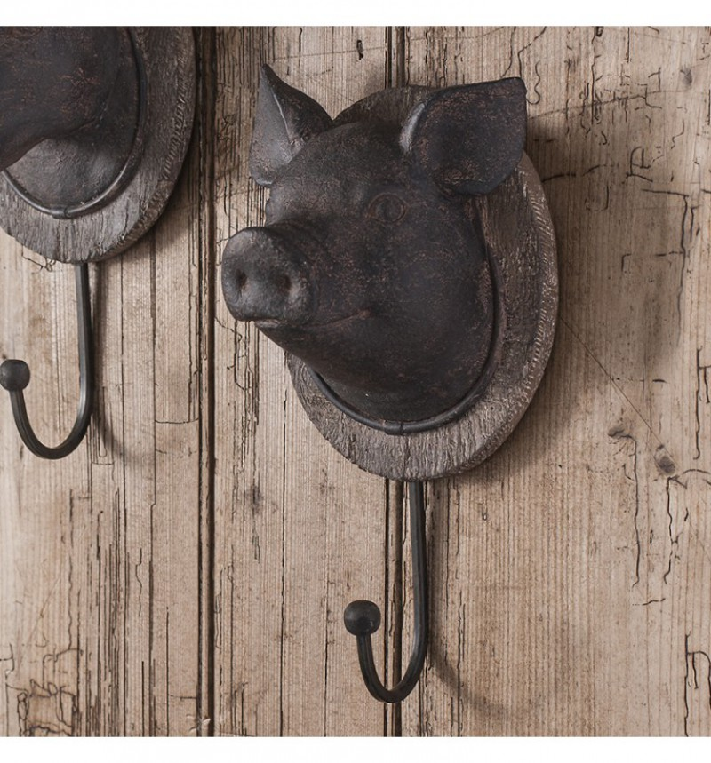 Gallery Pig Head Hook