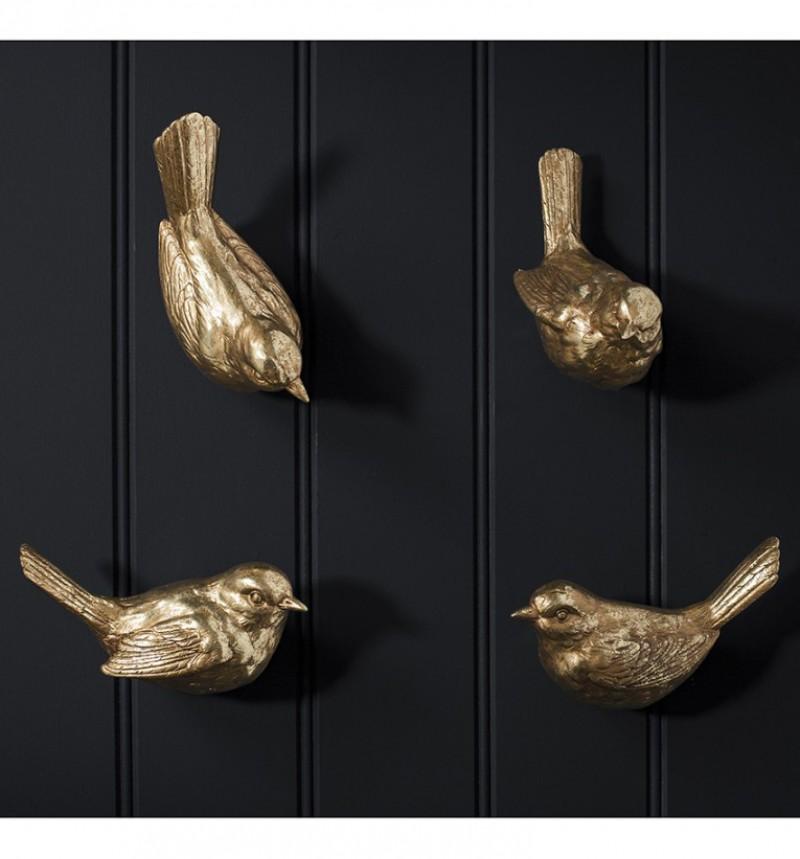 Gallery Birdie Wall Hooks Set of 4