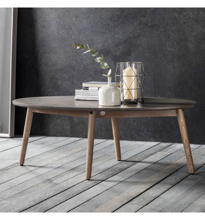 Gallery Bergen Oval Coffee Table