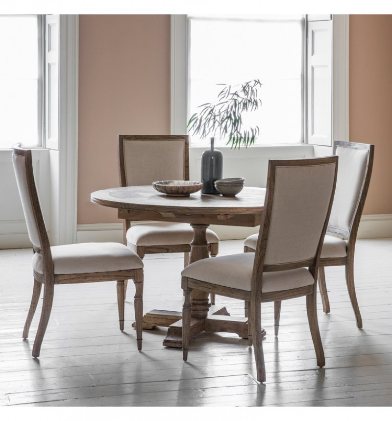 Gallery Mustique Round Extending Table