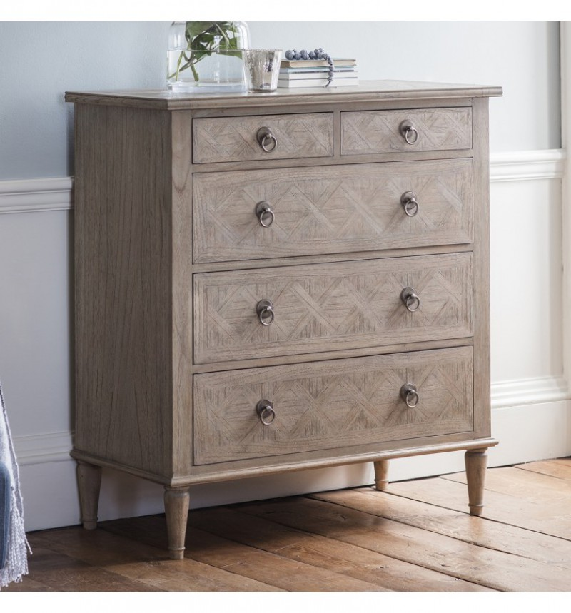 Gallery Mustique 5 Drawer Chest