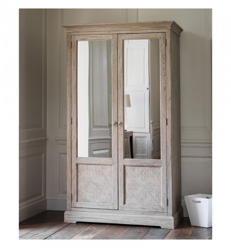 Gallery Mustique 2 Mirror Door Wardrobe