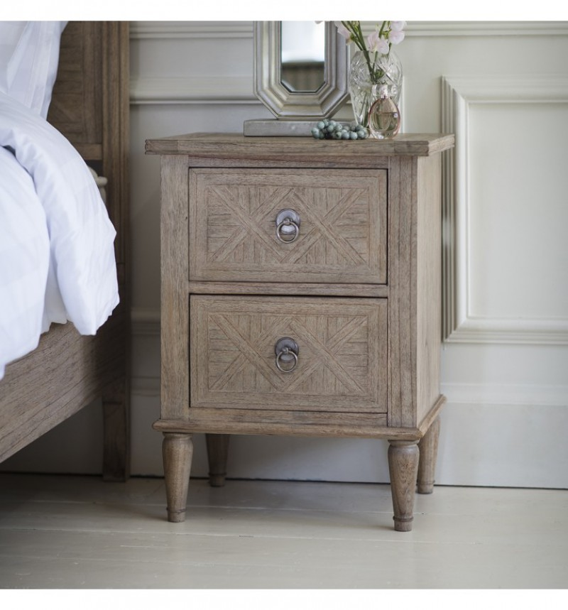 Gallery Mustique 2 Drawer Nightstand