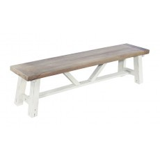 Rowico Driftwood Two Tone Small Bench