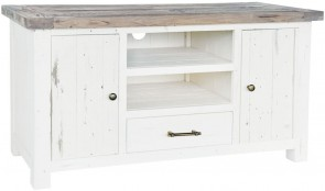 Rowico Driftwood Two Tone TV Unit
