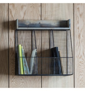 Gallery Langton Wire Triple Storage Rack