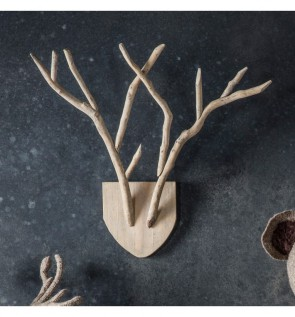 Gallery Nately Antler Wall Plaque