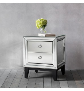 Gallery Aster 2 Drawer Side Lamp Table