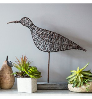 Gallery Syd Wire Bird Decoration