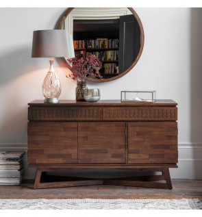 Gallery Boho 3 Door 2 Drawer Sideboard