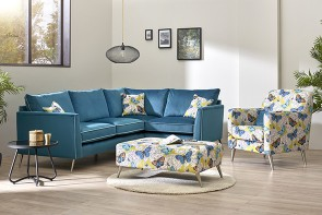 Lebus Bennett Chaise, Accent Chair & Footstool