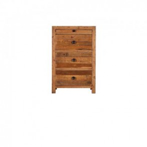 Baker Nixon 3 Drawer Bedside Unit