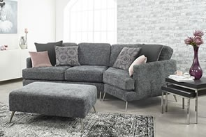 Lebus Venice 2 Seater & Footstool