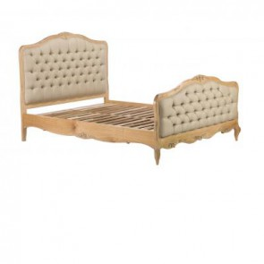 Baker Limoges Upholstered Bed Frame