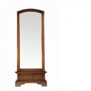 Baker Normandie Cheval Mirror