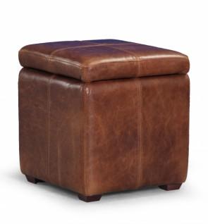 Vintage Sofa Company Storage Cube Footstool