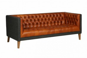 Vintage Sofa Company Bristol Club 3 Seater Sofa