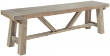 Rowico Driftwood Small Dining Bench
