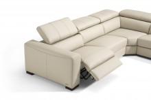 Marinelli City Italian Leather Sofa