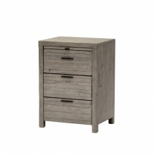 Baker Tuscan Spring 3 Drawer Nightstand
