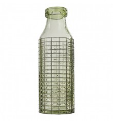 Gallery Pennington Bottle Vase with Wire Light Grey