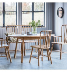 Gallery Wycombe Carver Dining Chair Pair